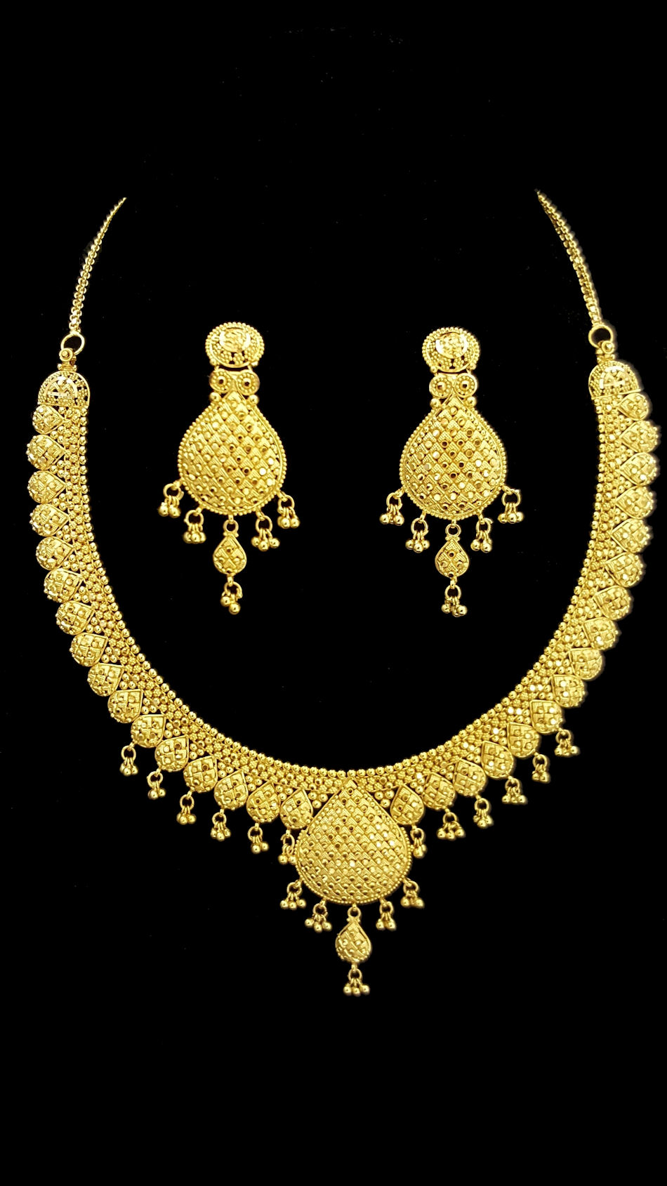 9a24ae17a29 22k gold necklace set (1002)