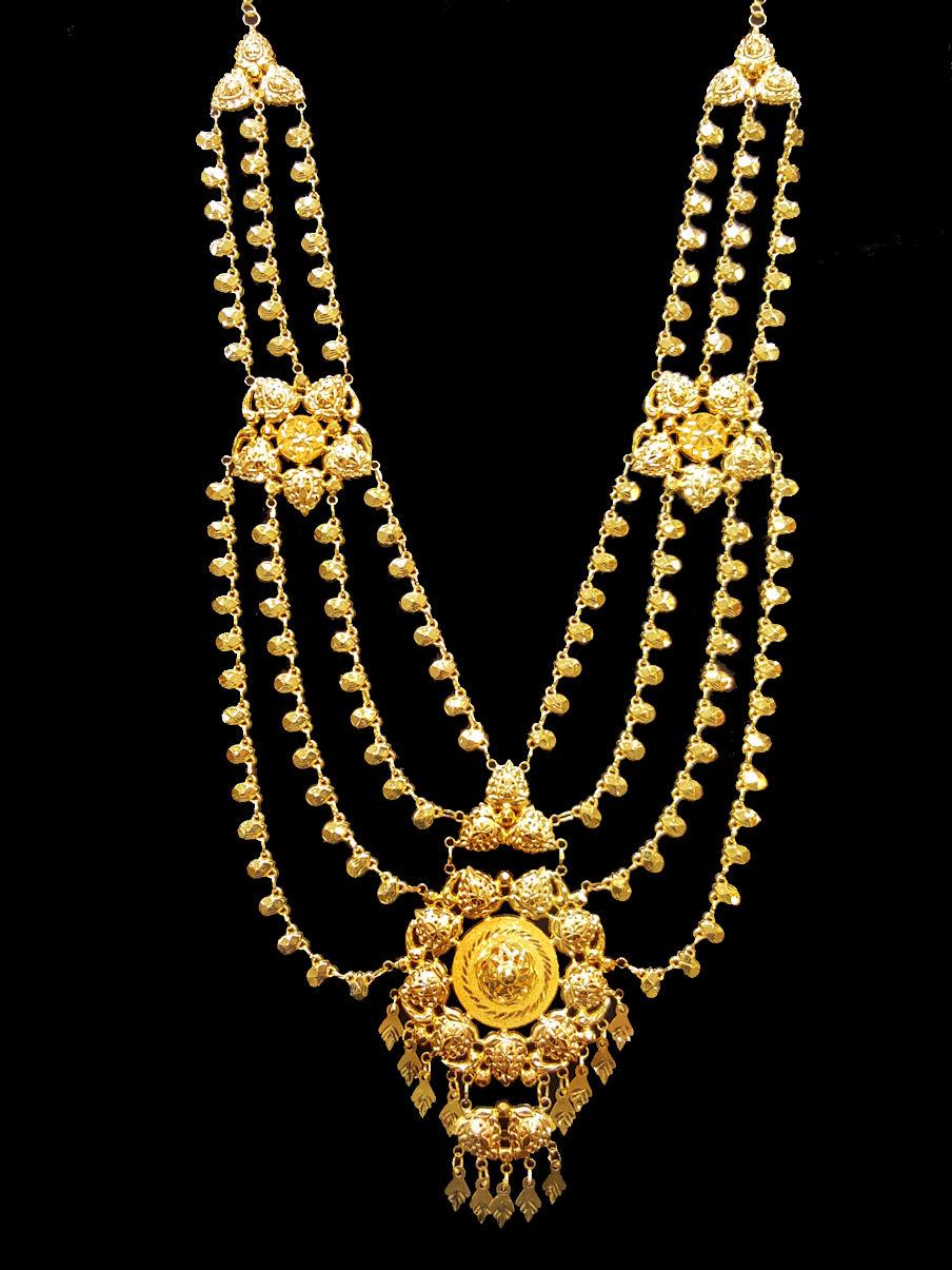 21k Gold Necklace 1792 Alquds Jewelry