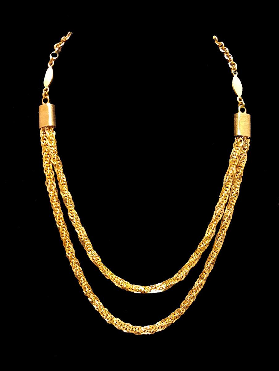 22k gold necklace (498) – Alquds Jewelry
