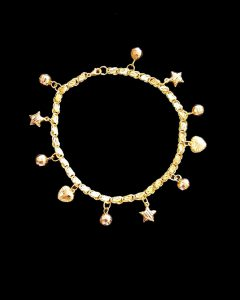 Yellow Gold Anklets