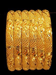 Yellow Gold Bangle Sets