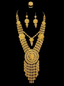 Yellow Gold Custom Necklace Sets