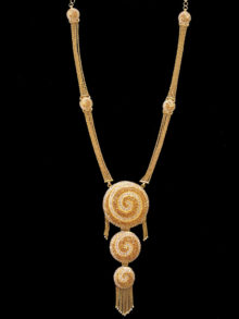 21k necklace(3046)
