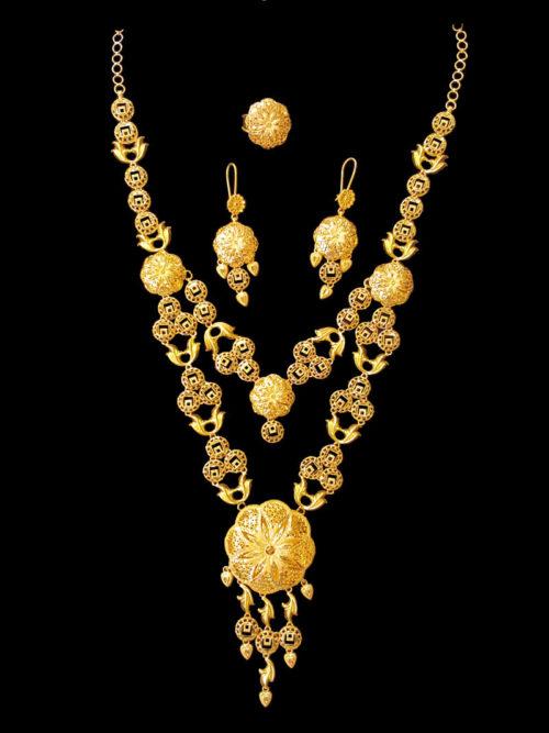 21k necklace set (1822))