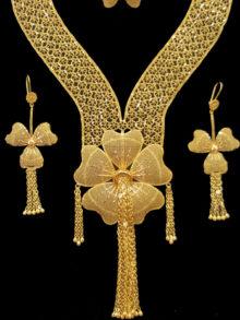 21k necklace set 3228