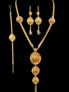 21k necklace set 3248