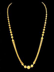 22k necklace 3245