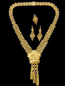 21k necklace set 5558