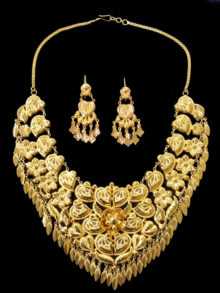 21k necklace set 5556