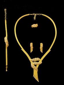 21k necklace set 9501