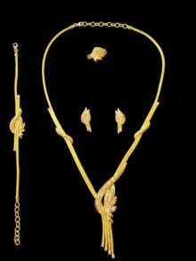 21k necklace set 5551