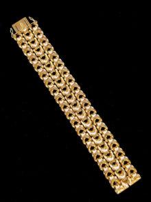 18kt bracelet 5624