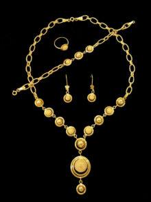 21k Necklace set 8008
