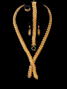 21k necklace set 8998