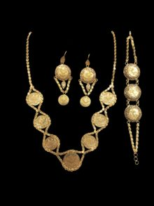 21k coin necklace 3690