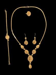 21k necklace set 4441