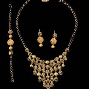 21k necklace set 4444