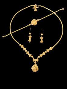 21k necklace set 4450