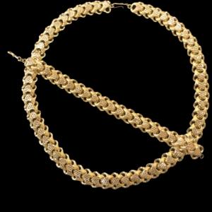 21k necklace set 4454