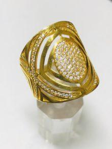 21k gold ring 4244
