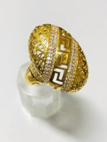 21k gold ring 4246