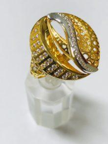 21k gold ring 4247