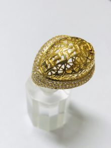 21k gold ring 4248
