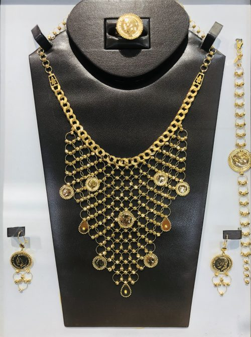 21k necklace set