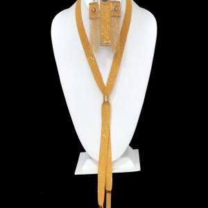 21k necklace set 9699