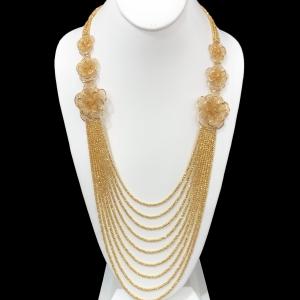 21k necklace 9698