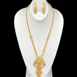 21k necklace set 8112