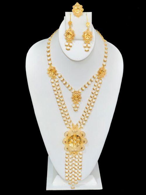 21k necklace set 8113