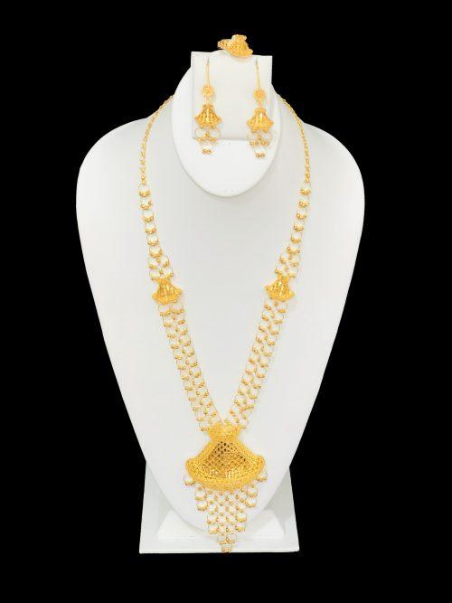 21k necklace set 8114