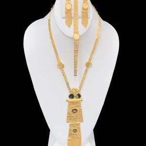 21k necklace set 8115