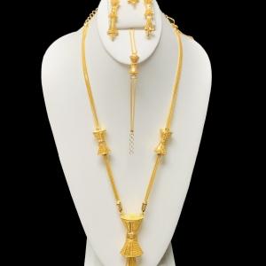 21k necklace set 8122