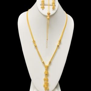 21k necklace set 8120