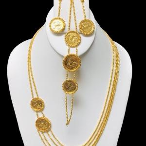 21k necklace set 8119
