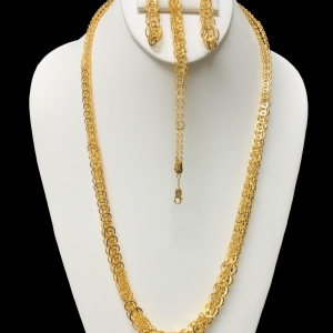 21k necklace set 8118